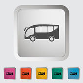 Bus icon — Stok Vektör