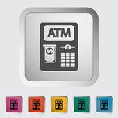 ATM icon. — Stock Vector