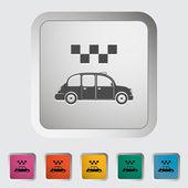 Táxi de ícone — Vetor de Stock