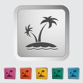 дерево пальмы — Cтоковый вектор