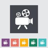 Videocamera — Stock Vector