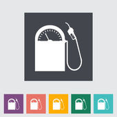 Pictogram gas station. — Stockvector