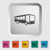 Bus icon — Stock vektor