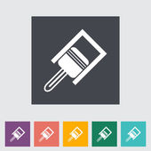 Piston flat icon. — Stock Vector