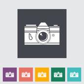 Ikona aparatu zbiorów. — Wektor stockowy