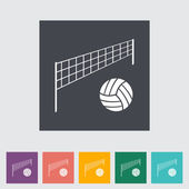 Voleibol — Vector de stock
