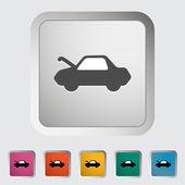 Car hood release — Stock Vector