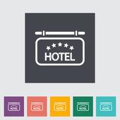 Hotel icon — Stock Vector