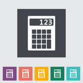 Calculator icon. — Stock Vector