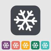 Snowflake icon. — Stock Vector