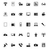 Devices icons. — Stock Vector