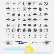 Weather icons — Stock Vector #35460373
