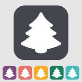Christmas tree — Stockvector