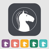 Horse icon — Stock Vector