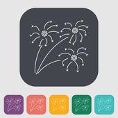 Firework — Stock Vector