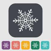 Snowflake icon. — Stock Vector