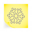 snowflake — Stock Vector #40028057