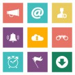 Icons for Web Design and Mobile Applications. — Stock Vector