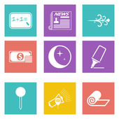 Icons for Web Design and Mobile Applications set 8 — Stock Vector