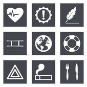 Icons for Web Design and Mobile Applications set 9 — Stockvektor