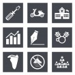 Icons for Web Design set 12 — Stock Vector