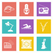 Icons for Web Design set 25 — Stock Vector