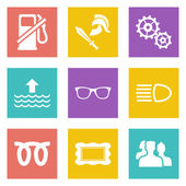 Icons for Web Design set 19 — Stock Vector