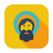 Jedną ikonę Boga. — Wektor stockowy