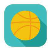 Basketball icon. — Stock vektor