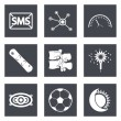 Icons for Web Design set 40 — Stock Vector