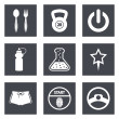 Icons for Web Design set 41 — Stock Vector #43740621