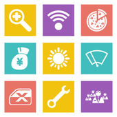 Icons for Web Design set 46 — Stock Vector