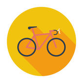 自転車のアイコン. — ストックベクタ