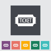 Ticket. — Vector de stock