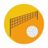 Voleibol — Vetorial Stock