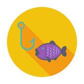 Fishing — Vector de stock