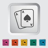 Play card — Stock Vector