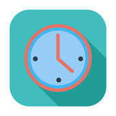 Clock icon. — Stock Vector