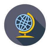 Schule-globus — Stockvektor