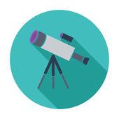 Telescope — Stock Vector