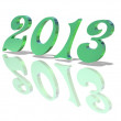 2013 year — Stock Photo