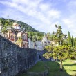 New Athos Monastery — Stock Photo