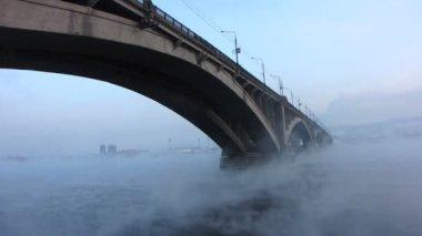 City bridges. — Stock Video