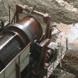 Dredge. Gold mine. — Stock Video