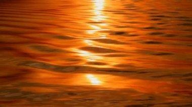 Wody odbicia słońca. — Wideo stockowe