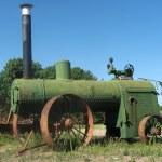 Antique tractor — Stock Photo #1273077