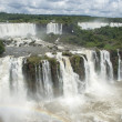 Iguassu Falls Argentina from Brazil — Stock Photo