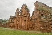 San Ignacio Mini Ruins — Stock Photo