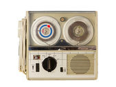 Mini Old Tape Recorder 04 — Stock Photo