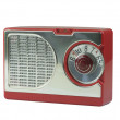 Stock Photo: Antique Transistor Radio